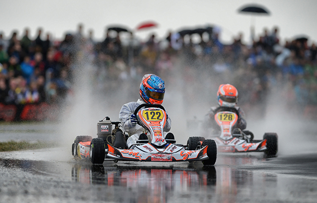 Juri Vips wins the final in Junior Max